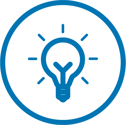 Icon lightbulb